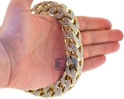 gold bangle bracelet men images Mens gold bracelets mens diamond franco bracelet 10k yellow gold jpg