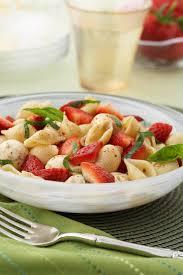 pasta salad strawberry caprese pasta salad