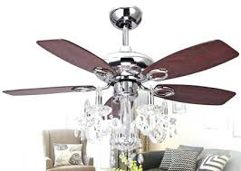 ceiling fan and chandelier ceiling fan chandelier light image of with crystals fixture crystal