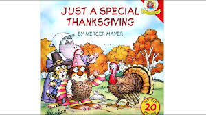just a special thanksgiving by mercer mayer