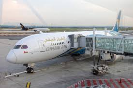 review oman air 787 9 business class from paris to muscat