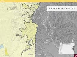 Oregon Idaho Map by Snake River Valley Ava Oregon Wine Resource Studio
