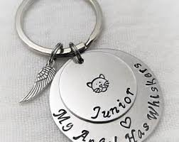 in memory of keychains pet remembrance etsy