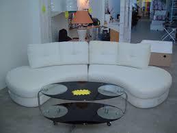 archiexpo canapé canape demi lune blanc table de lit a roulettes