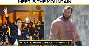 Who Are You Meme - dopl3r com memes meet the mountain is who are you in game of