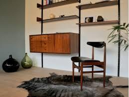 bureau vintage design chaise vintage design scandinave maison
