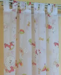 schlaufenschal kinderzimmer vorhänge gardinen flächenvorhang kinderzimmer tolle motive