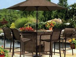 Patio Furniture Dining Sets - patio 25 patio dining set with umbrella furniture latest