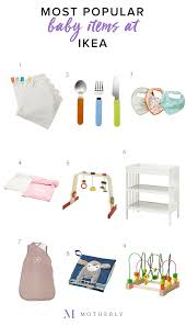 popular baby registry time for a shopping spree ikea s 9 most popular baby kid items