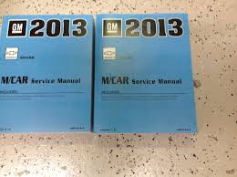 2013 chevy chevrolet spark service shop repair manual set new oem