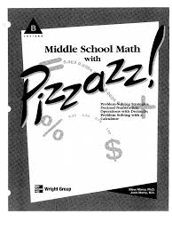 Did You Hear About Math Worksheet Middle Math With Pizzazz Book B Calculator Multiplication