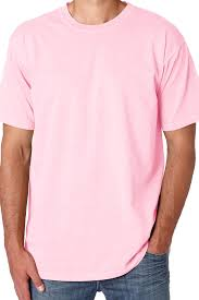 shades of pink purple comfort colors ring spun cotton tee