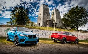 2015 bmw x6 m vs 2016 mercedes amg gle63 s coupe u2013 comparison