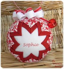 257 best quilted ornaments images on balls