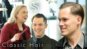 Mens Business Hairstyle by Classic Comb Over Hairstyle For Men A Casual Business Haircut