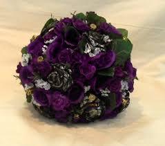 camo flowers camo wedding bouquet camo bridal bouquet camo wedding purple