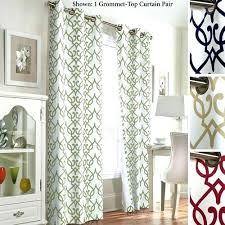 How To Make Room Darkening Curtains Target Grommet Curtains How To Make Grommet Curtains No Sew