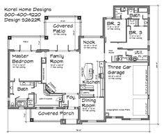 plan 42400db expandable house plan with alley entry garage and