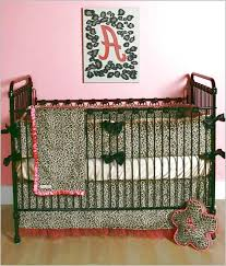 Leopard Crib Bedding Animal Print Baby Bedding Sets Leopard Crib Cheetah For Design