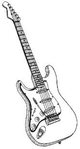 guitar coloring pages to print how to draw an electric guitar step by step drawing tutorials