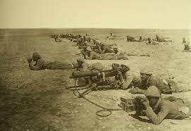 Ottoman S by File Israel In World War I Ottomans Soldiers With Machine Gun H