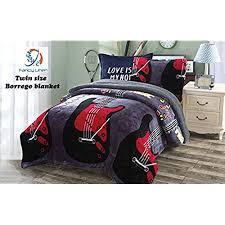music themed queen comforter music bedding amazon com