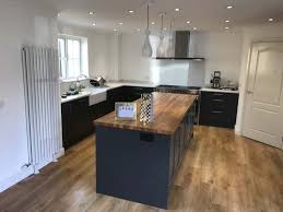 shaker style kitchen fitted in lower stondon hertfordshire