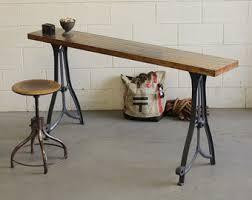 antique metal table legs vintage industrial seneca falls cast iron machine lathe legs