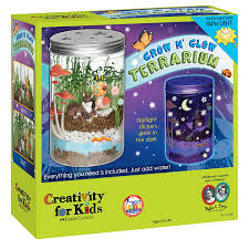 amazon com creativity for kids grow u0027n glow terrarium toys u0026 games