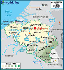belgium city map map of belgium european maps europe maps belgium map