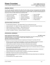 Sample Resume Objectives For Mechanics by Australian Format Resume Samples Free Resume Example And Writing