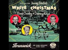 white christmas cast u2013 u201csnow u201d uk brunswick 1954 youtube