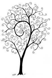a spiral tree ninth circle design