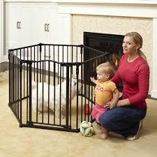 Munchkin Pet Gate North States Superyard Arched Metal Baby Pet Gate U0026 Play Yard