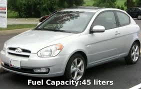2011 hyundai accent capacity 2010 hyundai accent se specification info