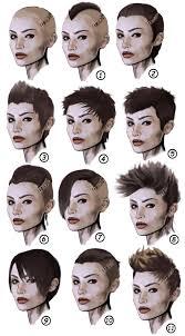 cool refs for cyberpunk hairstyle vermillionskiesabove