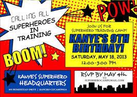 free download superhero birthday party invitations eysachsephoto com
