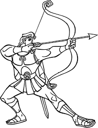 hercules coloring pages wecoloringpage