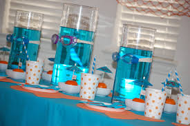 Under The Sea Centerpieces by Princess Baby Shower Party Favors Ideas Baby Shower Decoration