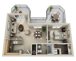 Apartment Complex Floor Plans by 50 One U201c1 U201d Bedroom Apartment House Plans Apartment Floor Plans