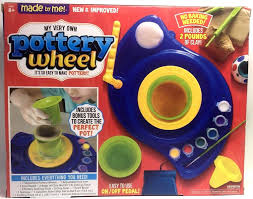 electric pottery wheel and clay sculpting kit kids u0027craft by