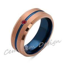 Male Wedding Rings by Mens Wedding Band Black Gold Tungsten Ring Brushed Surface Center
