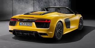 Audi R8 V10 Spyder - 2017 audi r8 v10 spyder unveiled at new york motor show photos