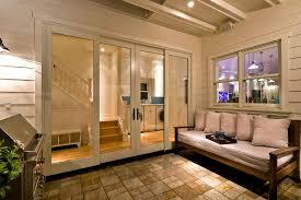 Contemporary Patio Doors 4 Panel Sliding Patio Doors With Contemporary Patio And Ceiling