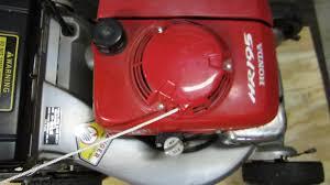 honda hr195 starter replacement lawn mower repair feb 21