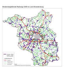 Autobahn Germany Map by Brandenburg Cycling Atlas