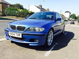 2004 individual bmw 325i m sport manual estroil blue immaculate