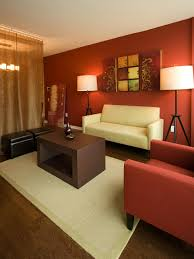 captivating orange color for living room also theme inspiration