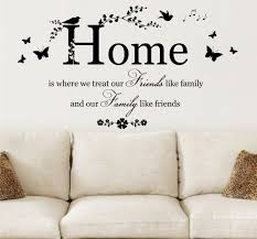 home quotes images google search printables pinterest home where treat quote vinyl wall art sticker decal mural decor