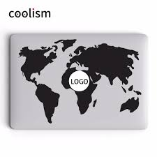World Map Decal by Map Laptop Skin Promotion Shop For Promotional Map Laptop Skin On